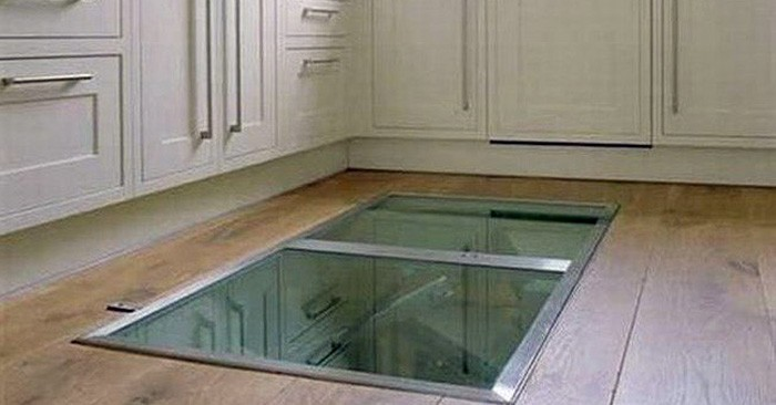 This Man Put A Window In His Kitchen Floor. The Reason? GENIUS! | Lighter Side of Real Estate & This Man Put A Window In His Kitchen Floor. The Reason? GENIUS ...