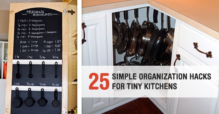 Tiny Kitchen Organization 24 super simple but brilliant organization hacks for a tiny kitchen workwithnaturefo