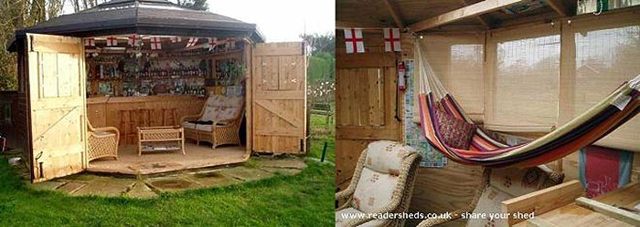 Pub Sheds Quickly Becoming Hot Trend In Backyard Entertainment