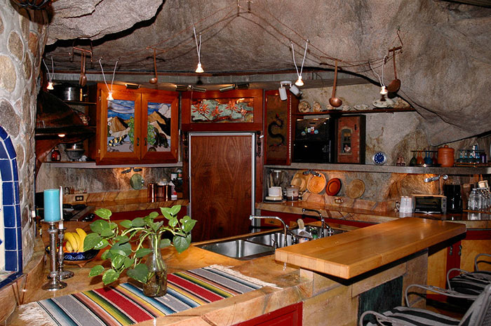 Man Cave House For Sale : Blasted deep into this arizona mountain is a cozy cave