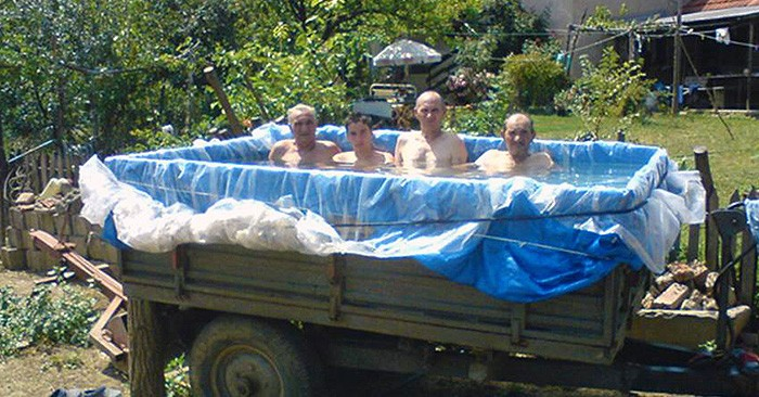 17 Of The Most Desperate DIY Pools Ever Made