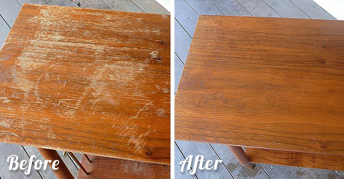 . Fixing Scratches In Wood Furniture Is Much Easier Than You Thought
