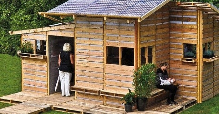 Wonderful Introducing U0027The Pallet Homeu0027: A Tiny Home You Can Build In Less Than A Day  Using Basic Tools