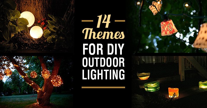 14 diy outdoor lighting themes thatll make any neighbor envious aloadofball Gallery