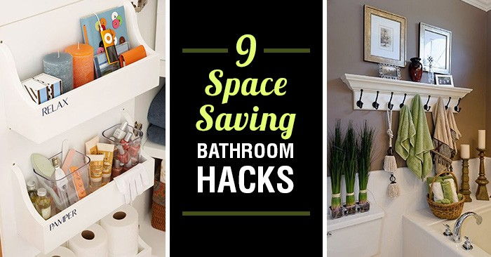 19 SpaceSaving Bathroom Hacks That Youll Wish You Knew A Lot Sooner