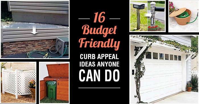 16 budget friendly curb appeal ideas anyone can do