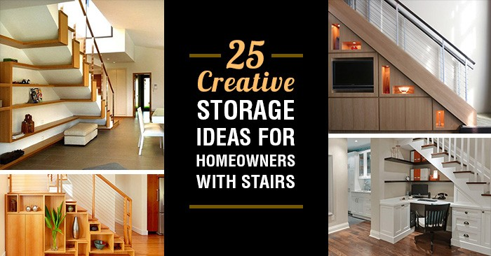 25 Creative Storage Ideas That Every Homeowner With Stairs Needs To See