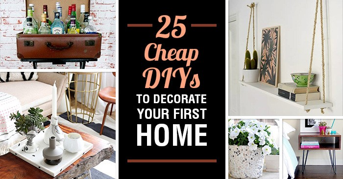 at home decorating projects 25 diy projects to decorate your home on the cheap 10394