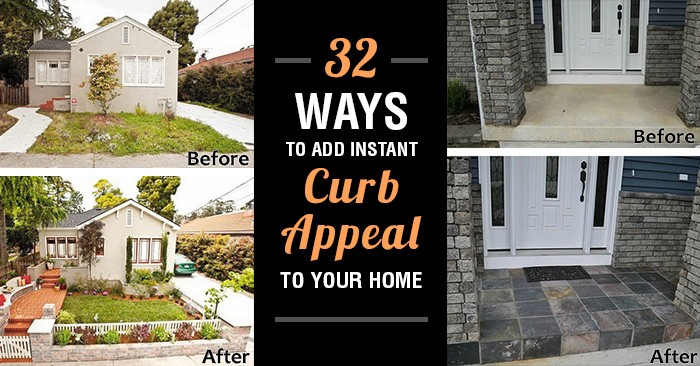 32 ways to add instant curb appeal to your home without breaking a sweat