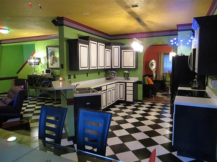 This is bar none the craziest interior paint job you ll - How to design a home ...