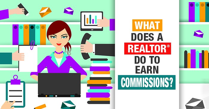 what does a realtor do to earn their commission