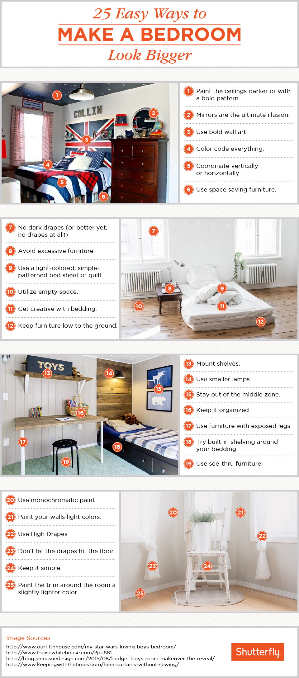 How To Make A Small Bedroom Look Bigger 25 Ways To Make A Small Bedroom Look Bigger