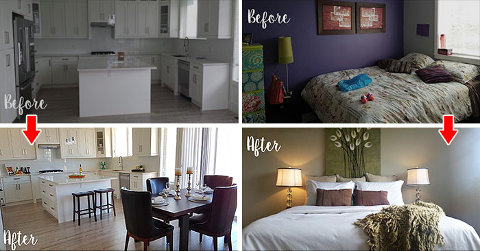 15 Before After Photos That Prove The Power Of Home Staging