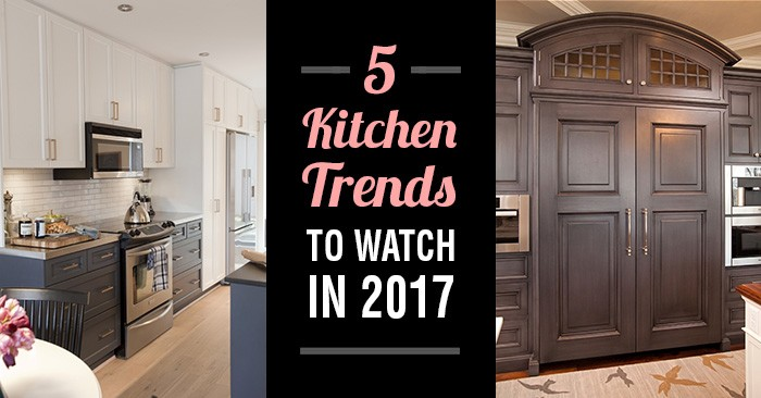 5 kitchen trends to watch in 2017
