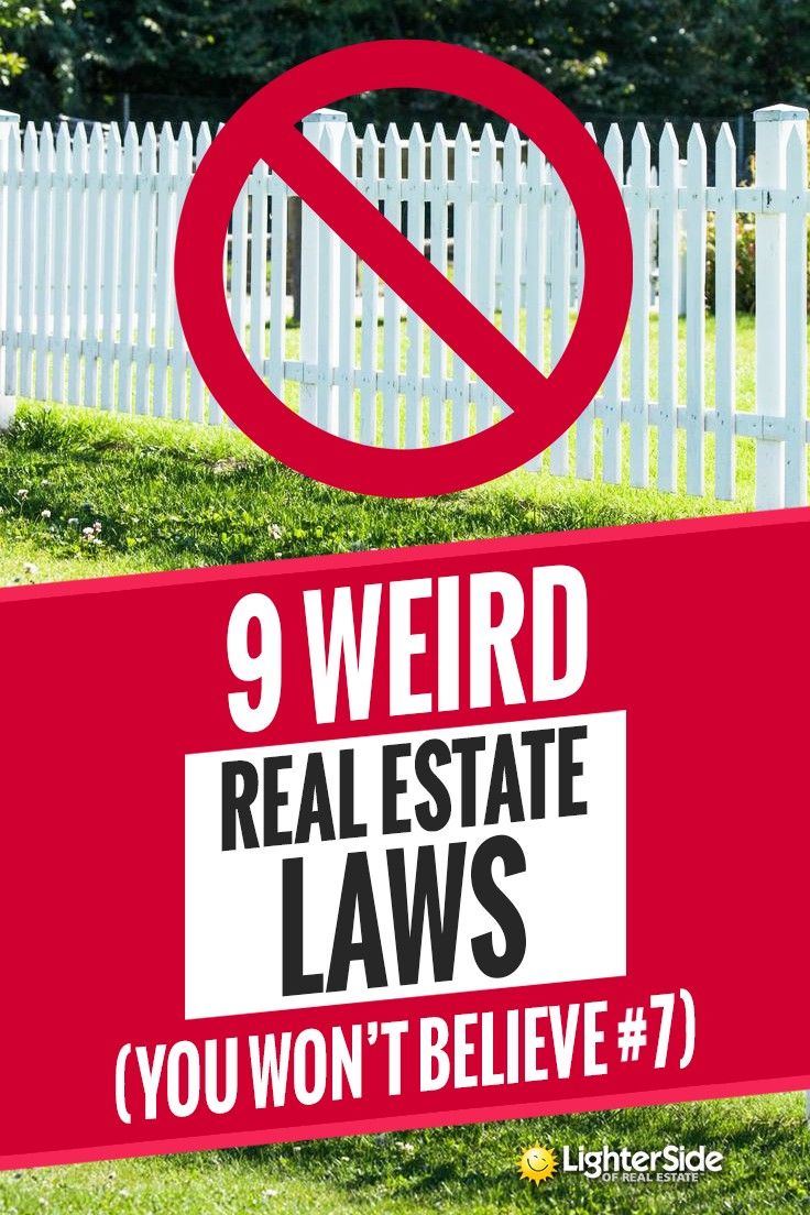 9 Weird Wacky Real Estate Laws In The Us